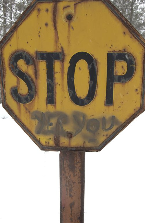 Grandpa's Stop Sign