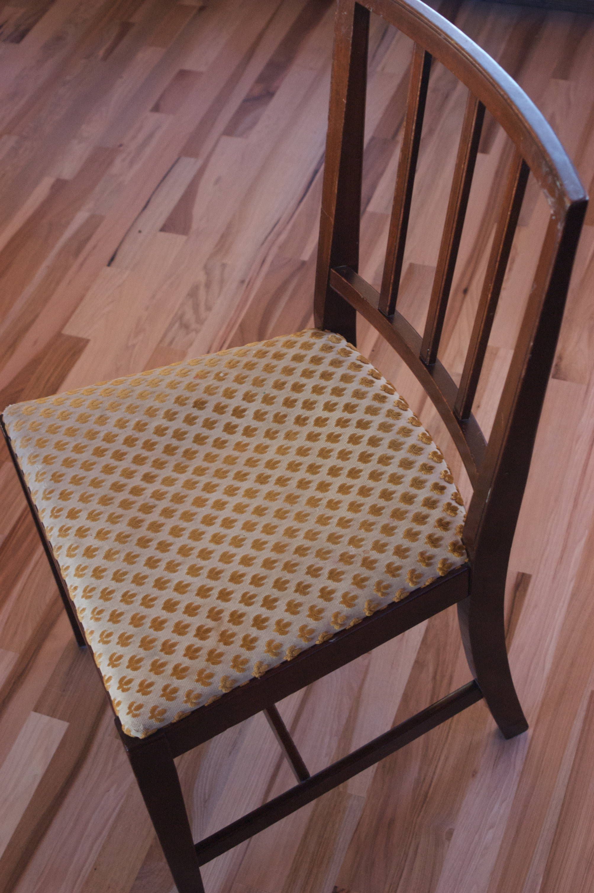 Reusing What We Have Recovering Dining Room Chairs