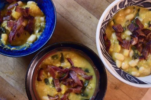 Butternut Squash and White Bean Soup | Clean : : the LuSa Organics Blog