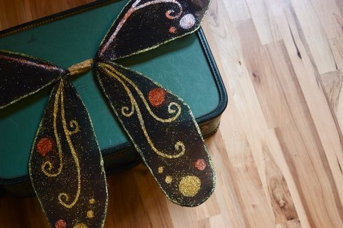 DIY Fairy Wings   Clean : : the LuSa Organics Blog