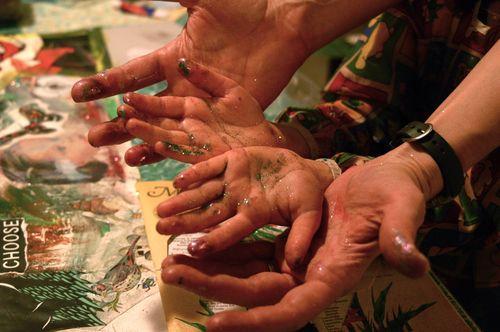 Family Art | Clean : : The LuSa Organics Blog