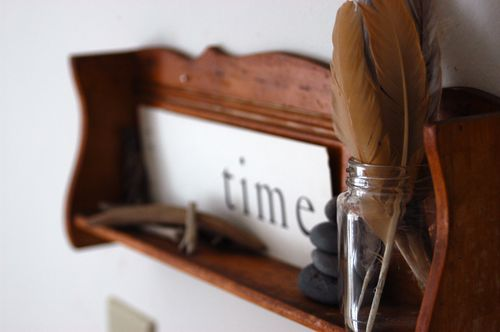 Thrift store decor. | Clean : : the LuSa Organics Blog