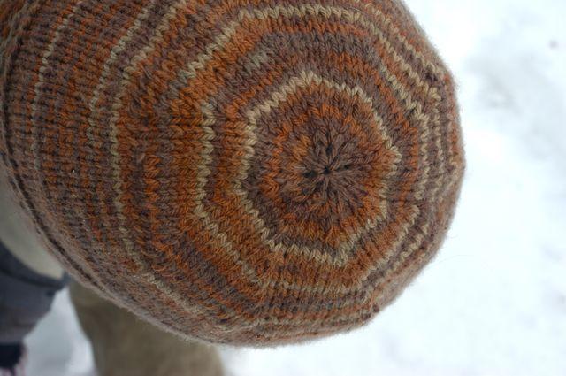 Man knitting! | Clean : : the LuSa Organics Blog