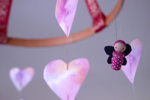Valentine Mobile | Clean : : the LuSa Organics Blog