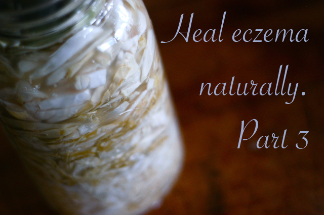 Heal eczema naturally, part 3: Restore gut flora. {Clean. The LuSa Organics Blog}