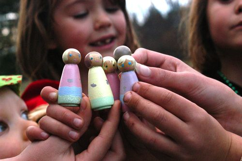 Peg doll birthday. | Clean : : the LuSa Organics Blog
