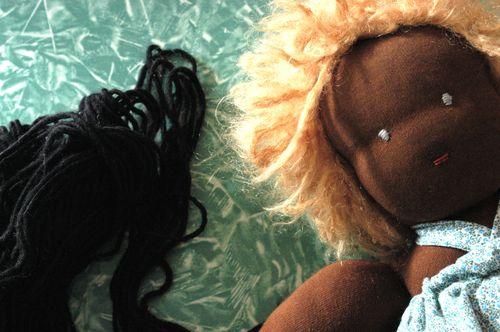 Revive that worn Waldorf doll!   Clean : : the LuSa Organics Blog