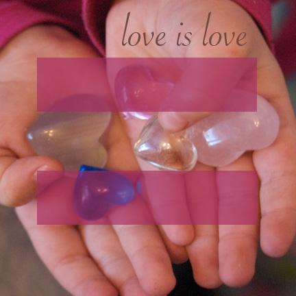 Love is love.   Clean.