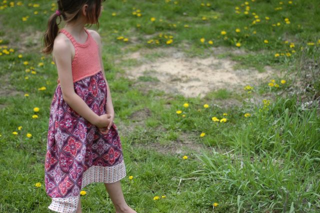 A little dress. {Clean. the LuSa Organics Blog}