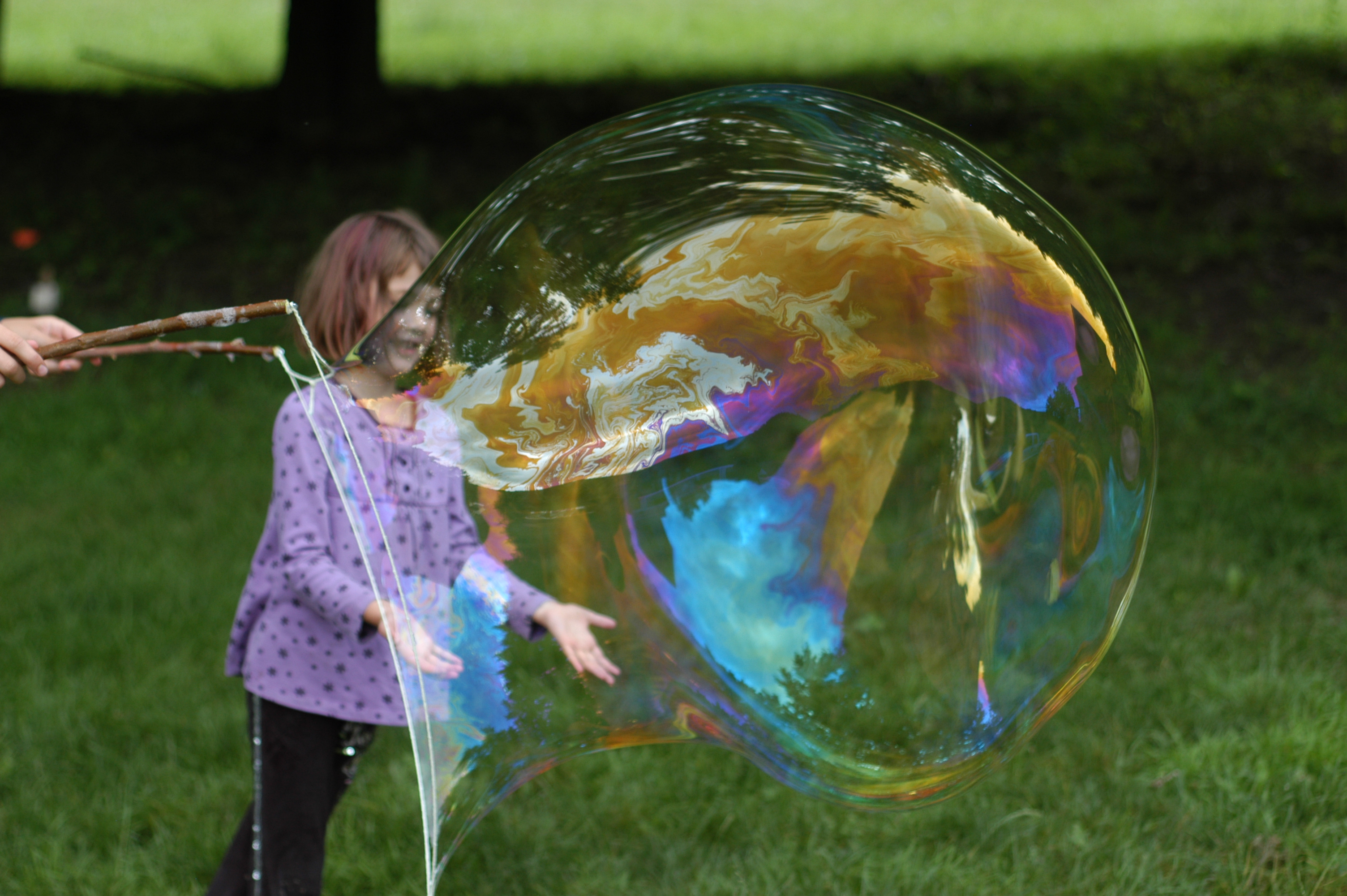 diy giant bubble wand tutorial clean