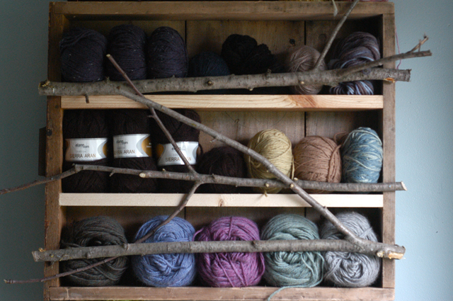 Charmant DIY Yarn Storage From Old Drawers. {Clean.}