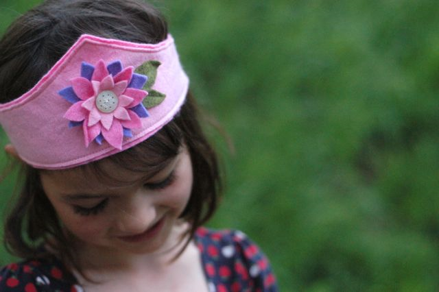 Waldorf Birthday Crown Sewing Pattern | Clean. www.lusaorganics.typeapad.com