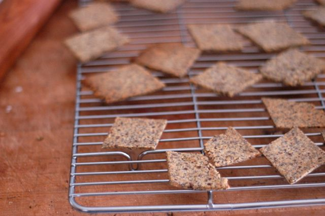 homemade crackers | Clean.