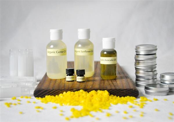 DIY Organic Lip Balm Kit | LüSa Organics