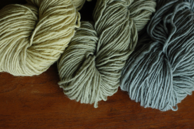 Naturally dyed home-grown wool : : Rachel Wolf, Clean