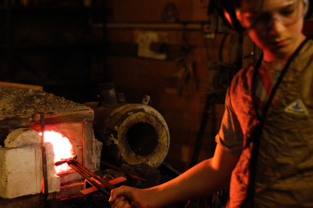 In the forge : : Rachel Wolf, Clean : : www.lusaorganics.typepad.com